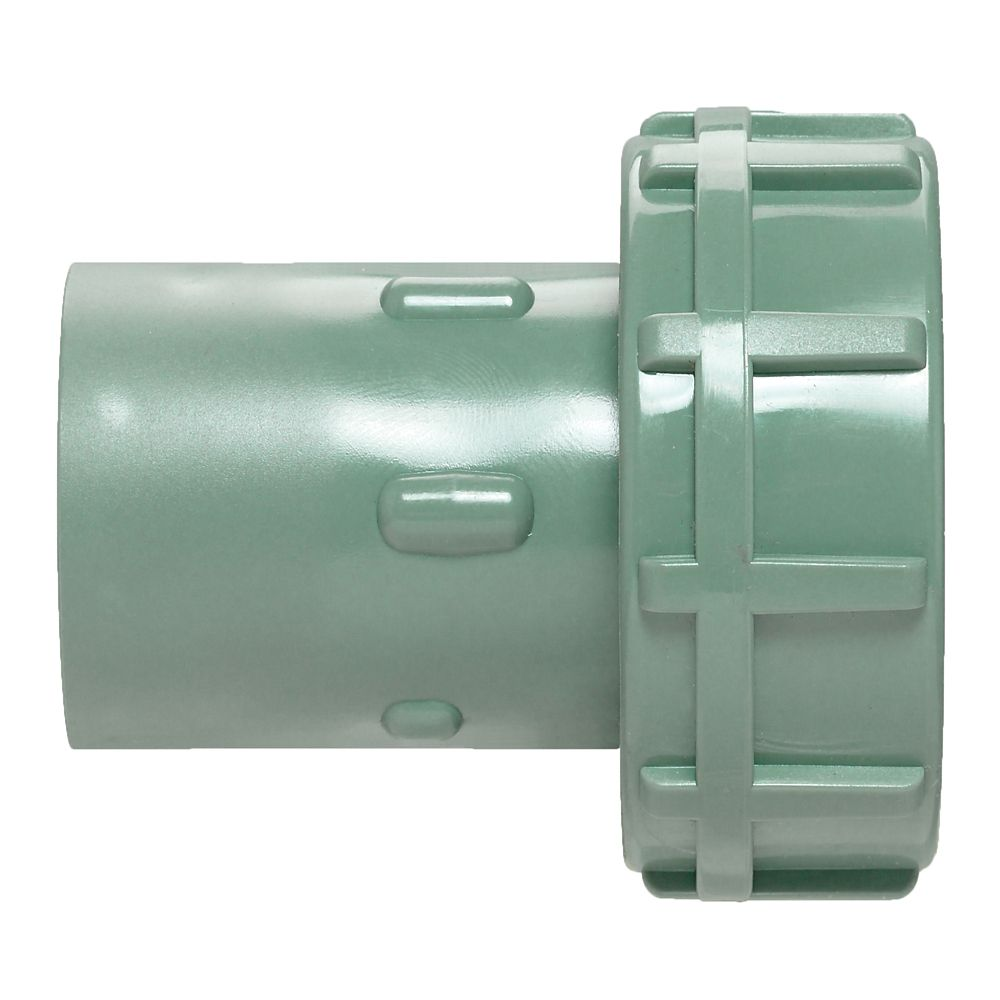 PVC Slip Swivel Adapter&#x3b; Grn