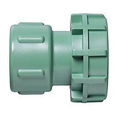1-inch Female Swivel Adapter in Green