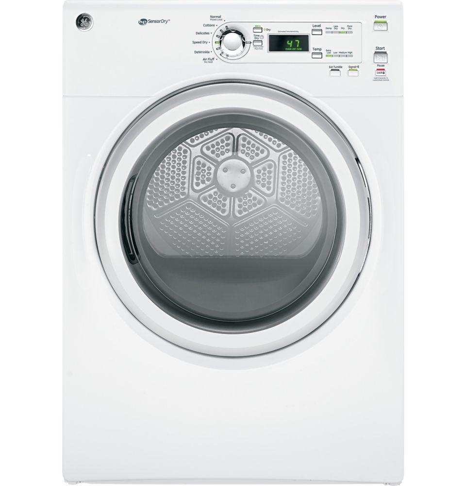 White 7 Cu.Feet. Capacity Electric Dryer