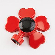 Arroseur de surface rectangulaire (rouge)