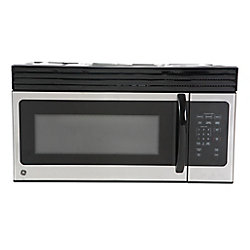 GE 30-inch 1.6 cu. ft. Over the Range Microwave in Stainless Steel with Sensor Cooking