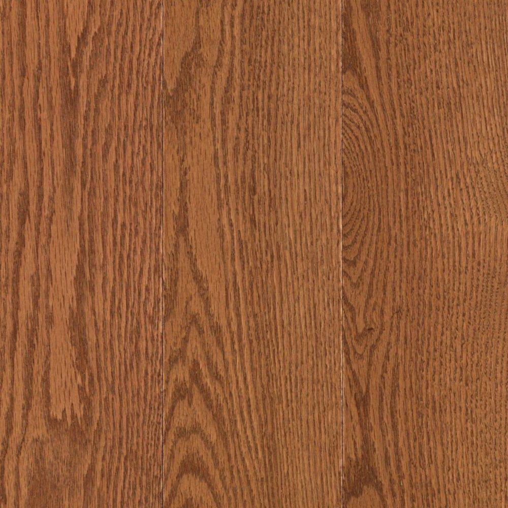 Mohawk raymore oak gunstock 3 4 inch thick x 5 inch w for Hardwood flooring 4 inch