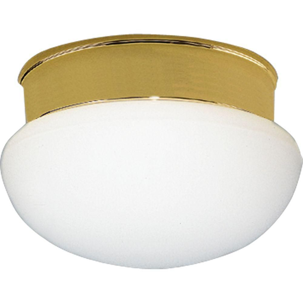 Polished Brass 1-light Flushmount 7.85247E 11 in Canada