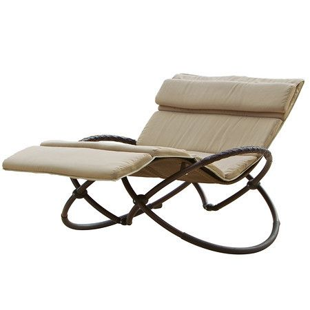 Delano Double Orbital Lounger with Cushion Set