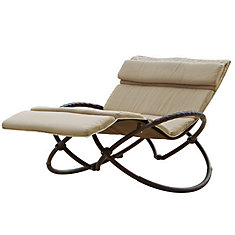 Chaise longue double orbitale Delano