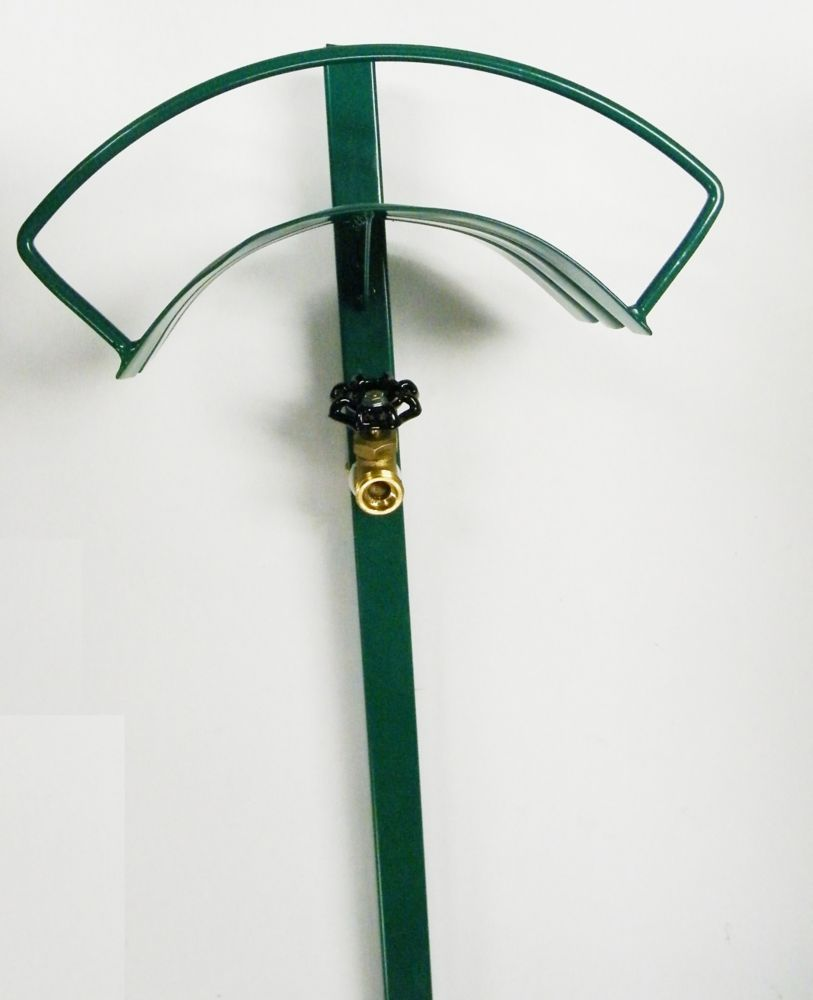 Continental Free Standing Hose Hanger with Faucet