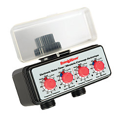 Easy Dial Dual Electronic Water Timer