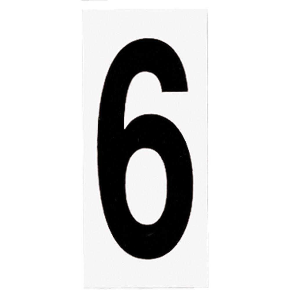 Address Light Number Tile, No. 6 or 9