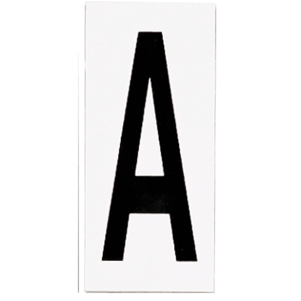 Address Light Number Tile, No. A