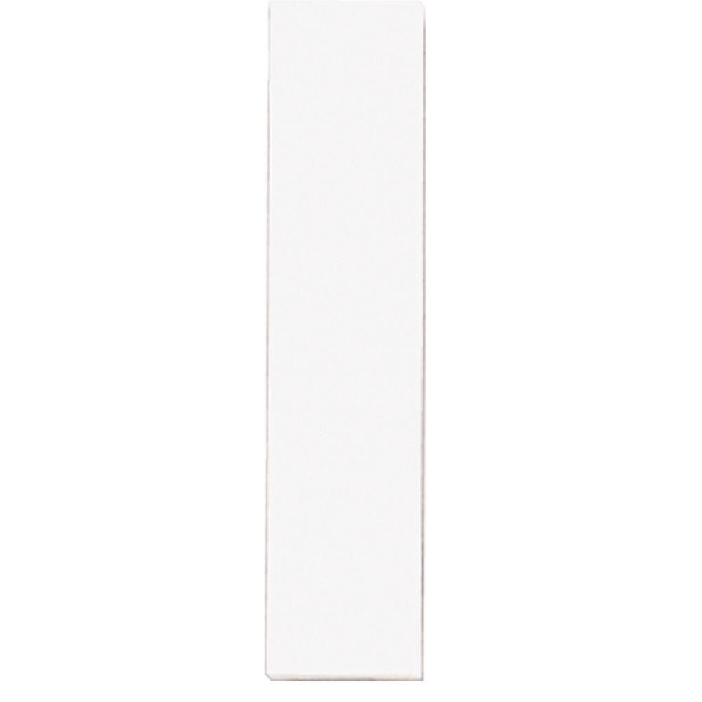 Plaque numérotée pour lampe de no. de porte, demi-plaque vierge