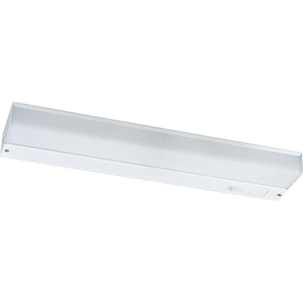 White 18 In. Undercabinet Fixture