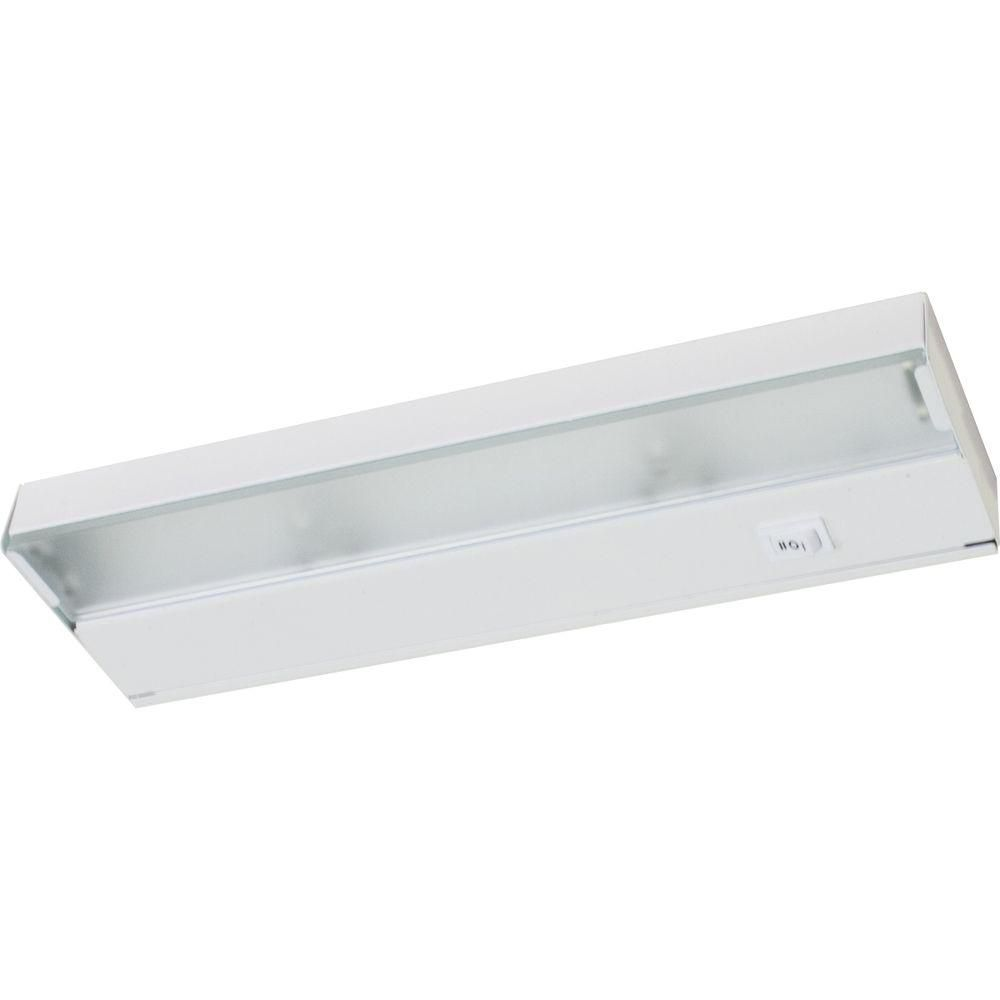 Hide-a-Lite III White 2-light Undercabinet Fixture
