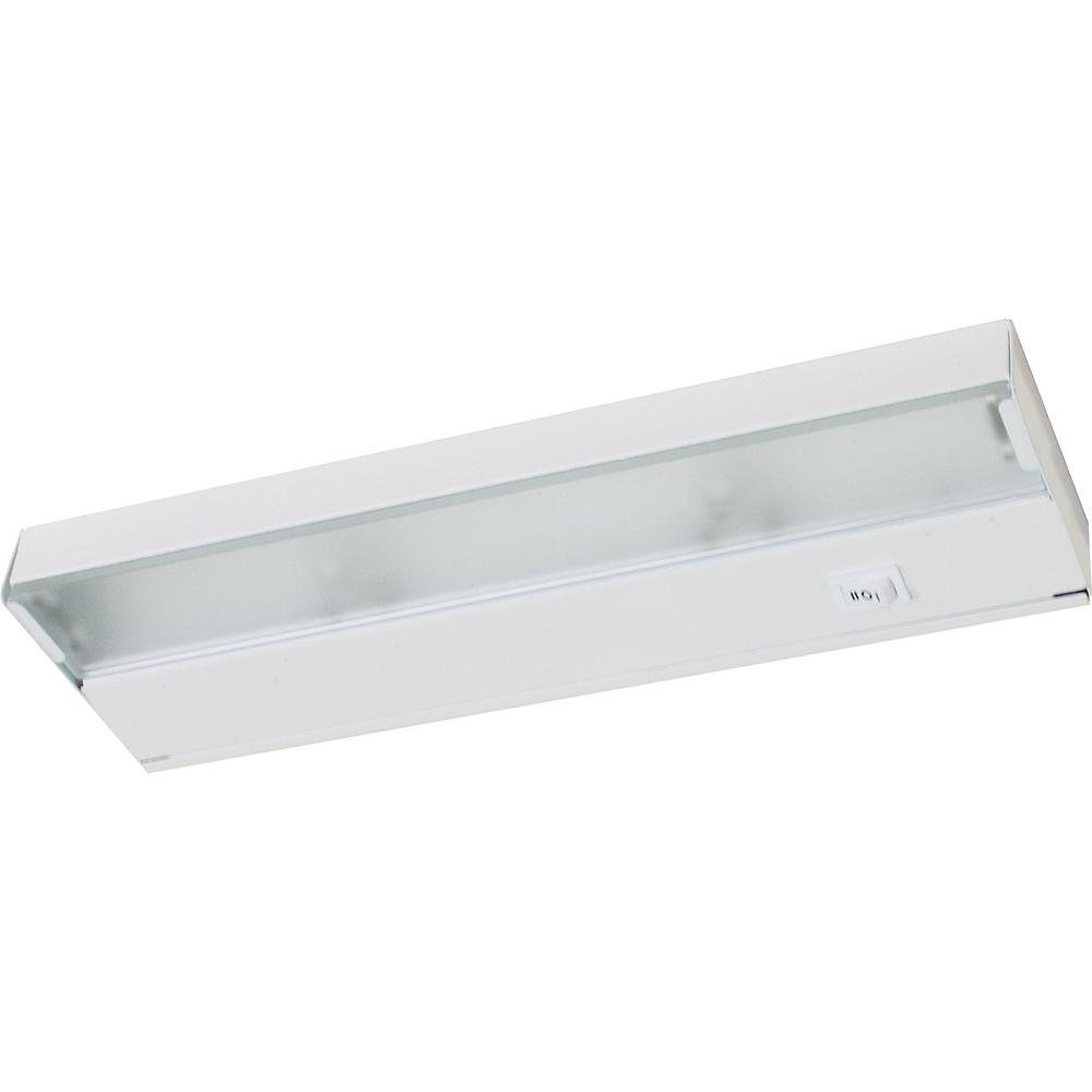 Hide-a-Lite III White 2-light Under-Cabinet Fixture