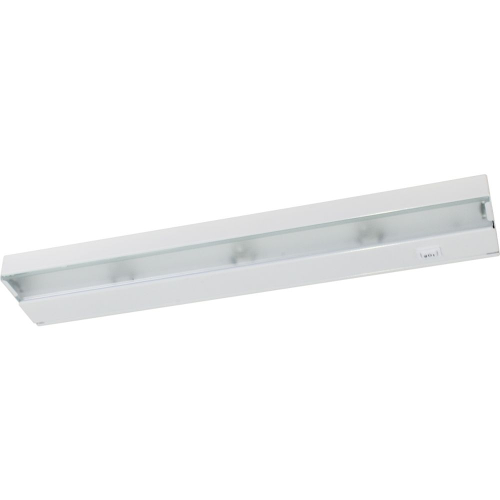 Hide-a-Lite III White 4-light Undercabinet Fixture 7