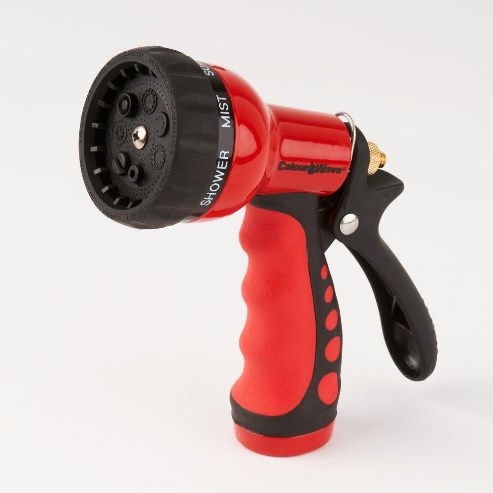 7 Multi Pattern Nozzle (Red)