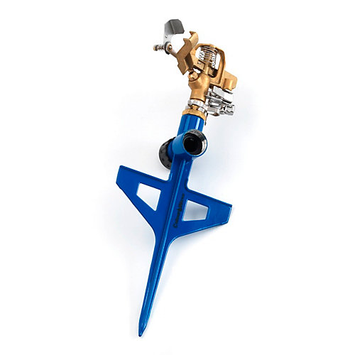 Pulsating Brass Sprinkler in Blue