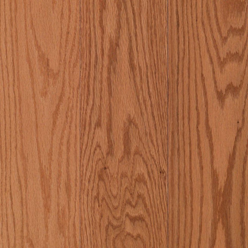 Mohawk raymore 3 4 solid x 5 width oak butterscotch for Real oak hardwood flooring