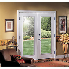 72-inch 1-Lite Righthand Inswing French Patio Door with Vinyl Clad Jamb ... & Shop Patio Doors at HomeDepot.ca | The Home Depot Canada Pezcame.Com