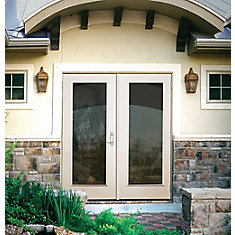 double french doors home depot canada. 60-inch 1-lite lefthand outswing french patio door double doors home depot canada