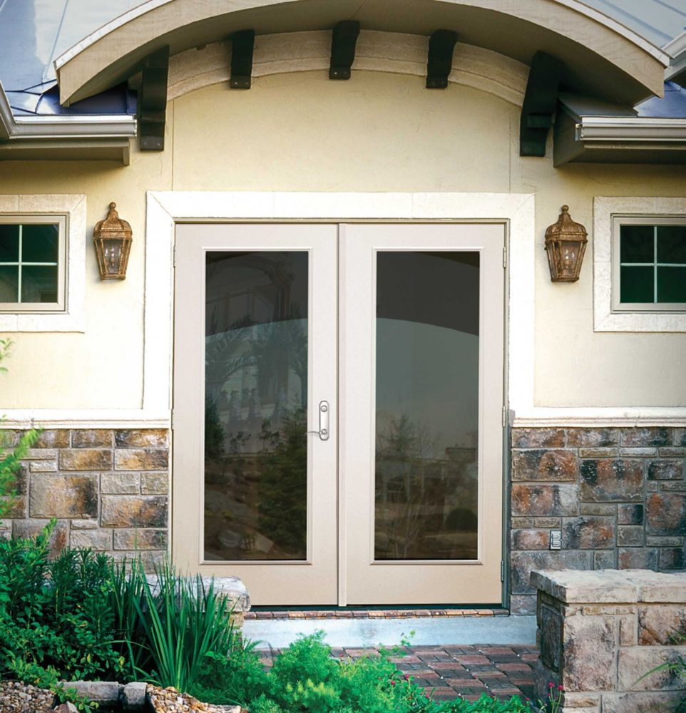 60-inch 1-Lite Lefthand Outswing French Patio Door
