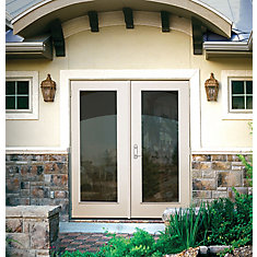 60 inch 1 Lite Righthand Outswing French Patio Door  Shop Patio Doors at HomeDepot ca   The Home Depot Canada. Double French Doors Home Depot Canada. Home Design Ideas