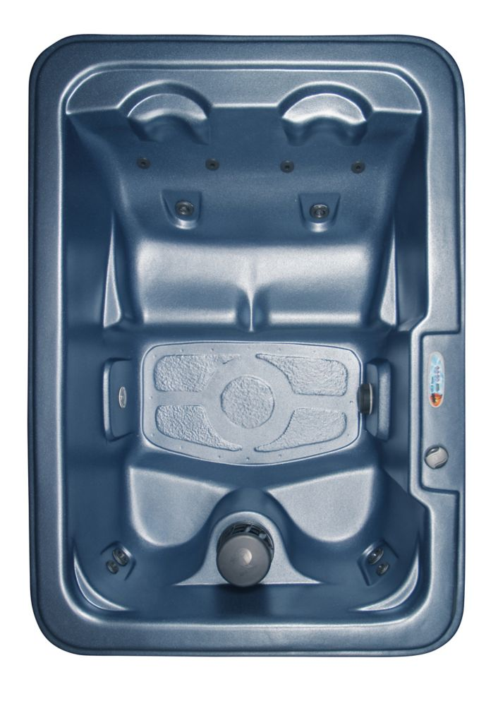 Marco 10-Jet Plug and Play Spa with Polar Insulation in Blue Denim