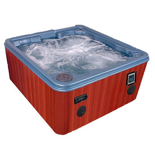 Key Largo 8 personnes 70-Jet Spa Pompes système au sel brome, WOW Sound avec paquet économiseur d'énergie libre