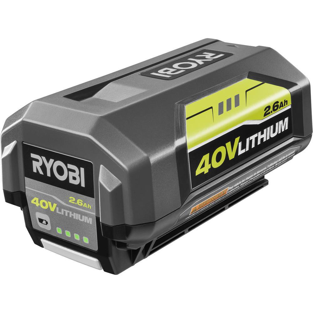 40V Lithium-Ion High Capacity Battery