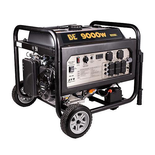Génératrice de 15HP à démarrage électrique 9000W