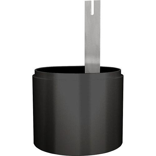 Progress Lighting Black Full Cutoff Light Shield Accessory
