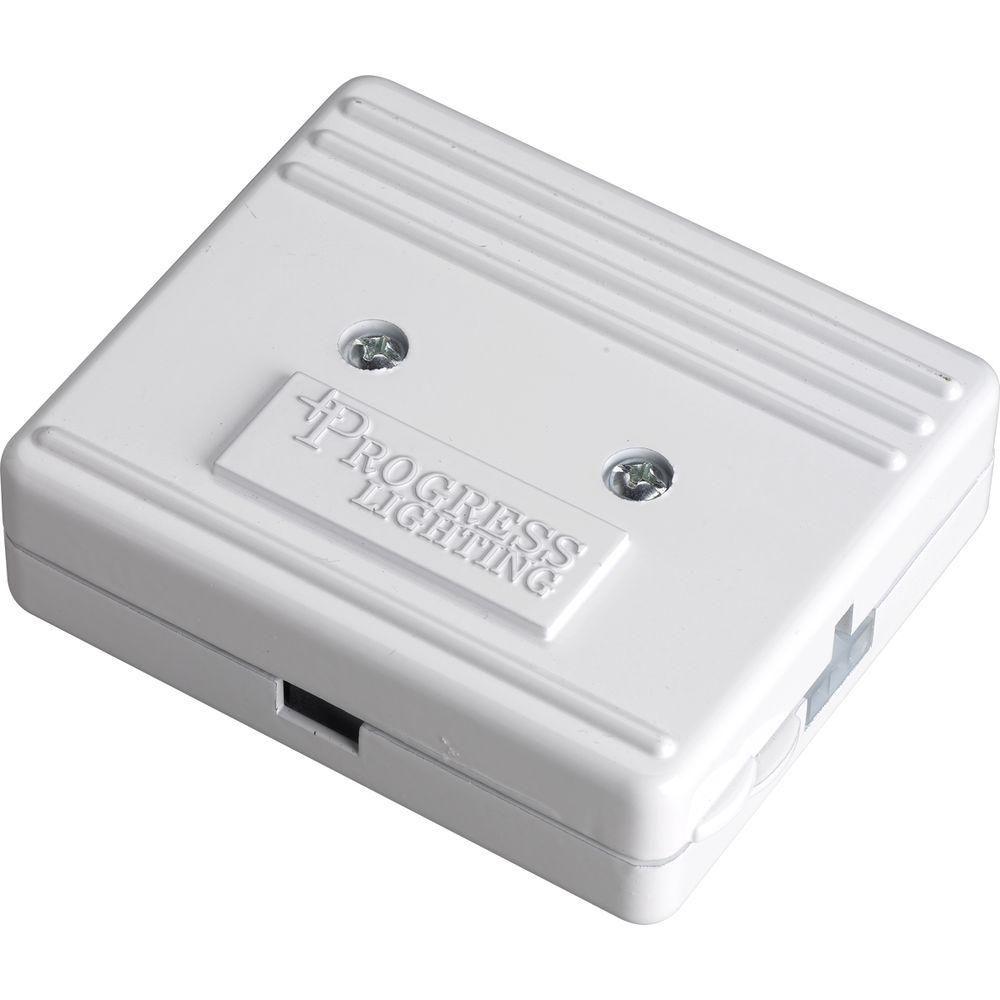Boîte de raccordement direct Hide-A-Lite III - fini Blanc