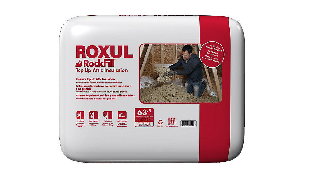 Roxul Rockfill Top Up Attic Insulation The Home Depot Canada