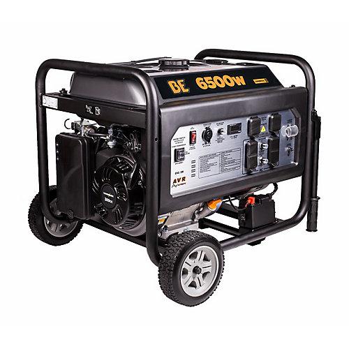Génératrice de 13HP à démarrage électrique 6500W