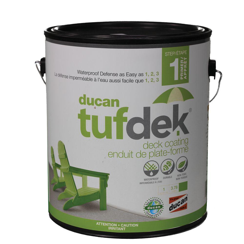 L'apprêt Tufdek, utilisé comme première étape dans le système Tufdek Apprêter la surface avant l'...