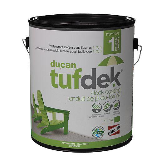 Ducan Tufdek Tufdek Primer, used as the first step in the Tufdek System. Primes the surface before step 2 and 3.