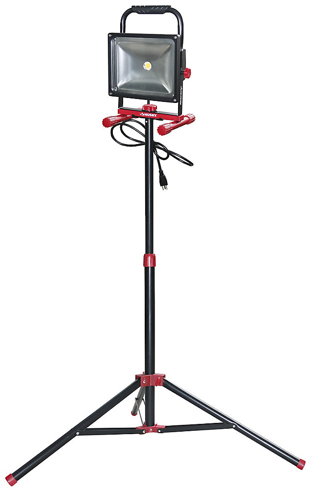 1720-Lumen LED Work Light with Tripod and 5 ft. Cord