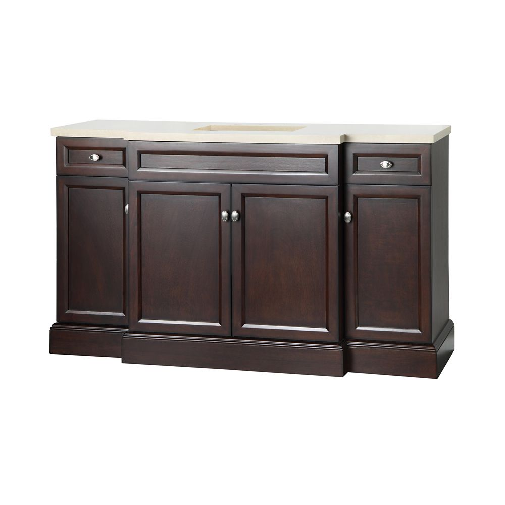 Foremost International Teagen 58 inch W Vanity bo in