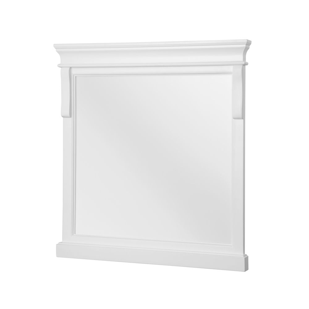 Naples White 30 Inch  Mirror