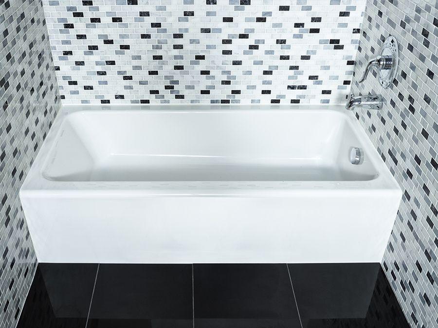 Mainstream Acrylic Right Hand Bathtub 1752RH.020 in Canada