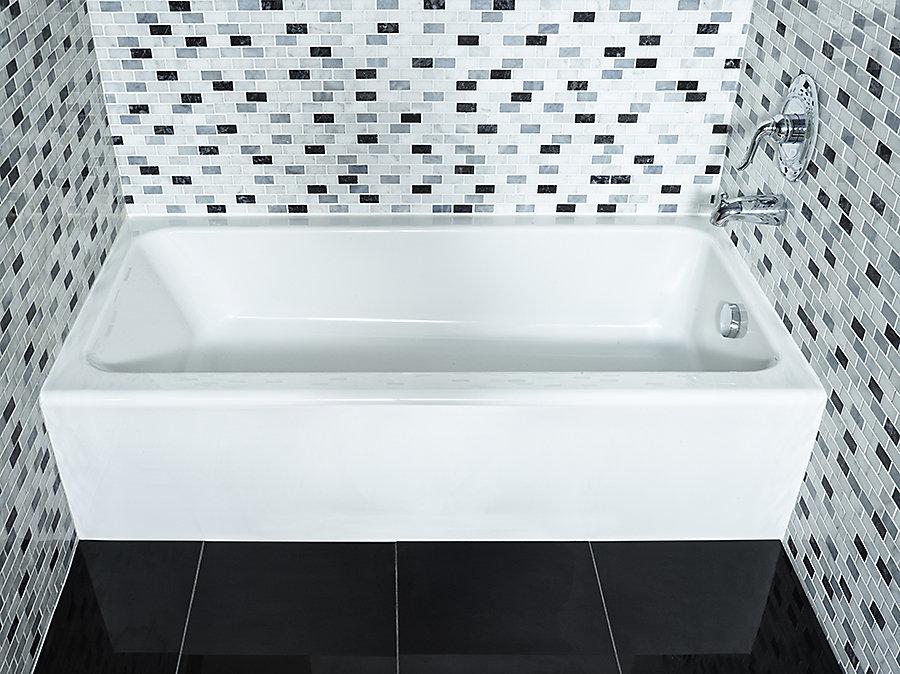 Mainstream Acrylic Right-Hand Bathtub