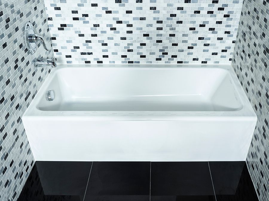 Mainstream Acrylic Left Hand Bathtub
