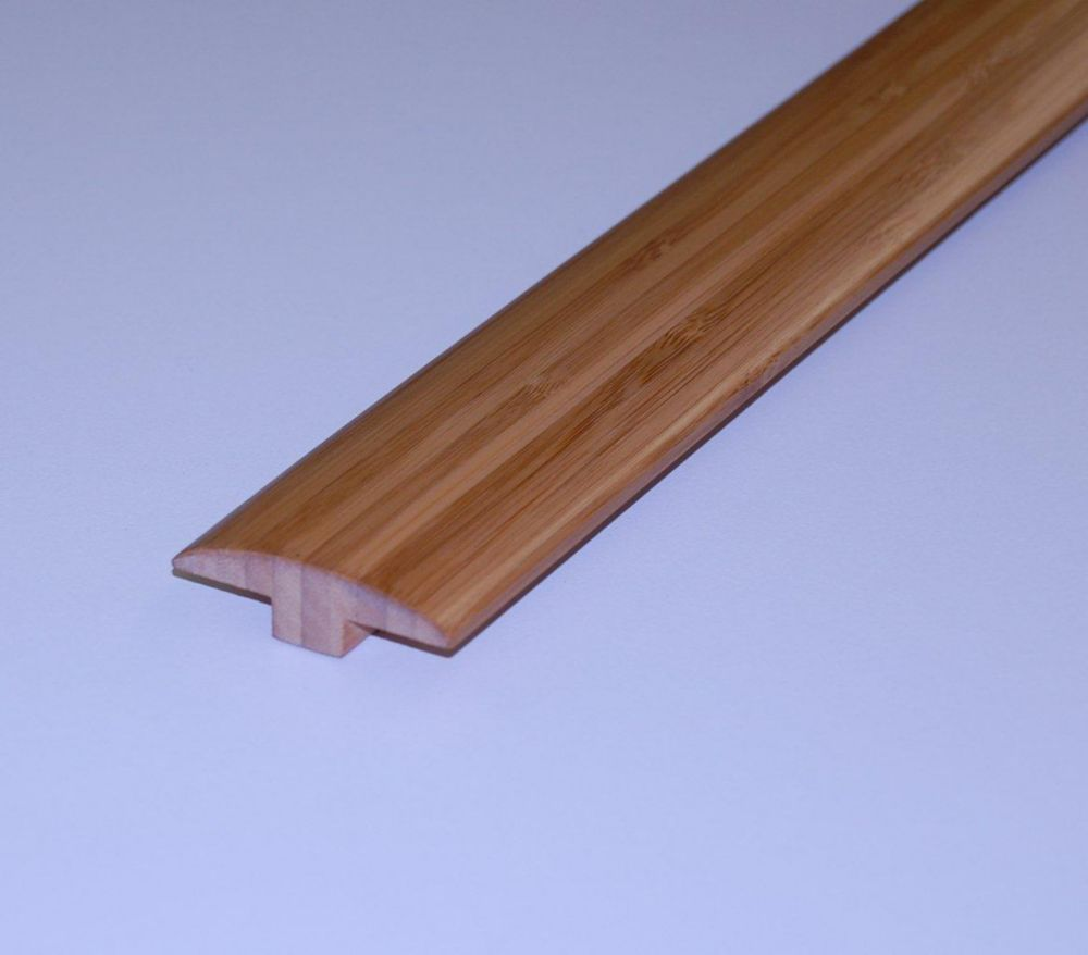 Bamboo Coffee T-Mould - 78 Inch Lengths