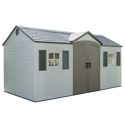 Garden Sheds Canada lifetime 15 ft. x 8 ft. garden shed | the home depot canada