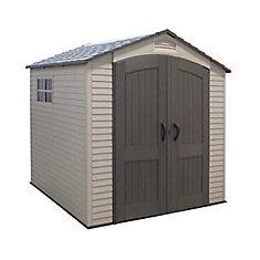7x7 Garden Storage Shed w/ Two Windows