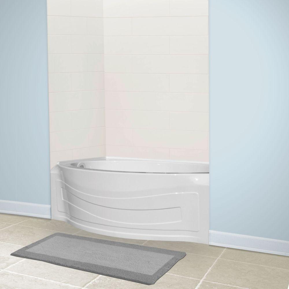 American Standard Jasper Acrylic Left-Hand Bathtub