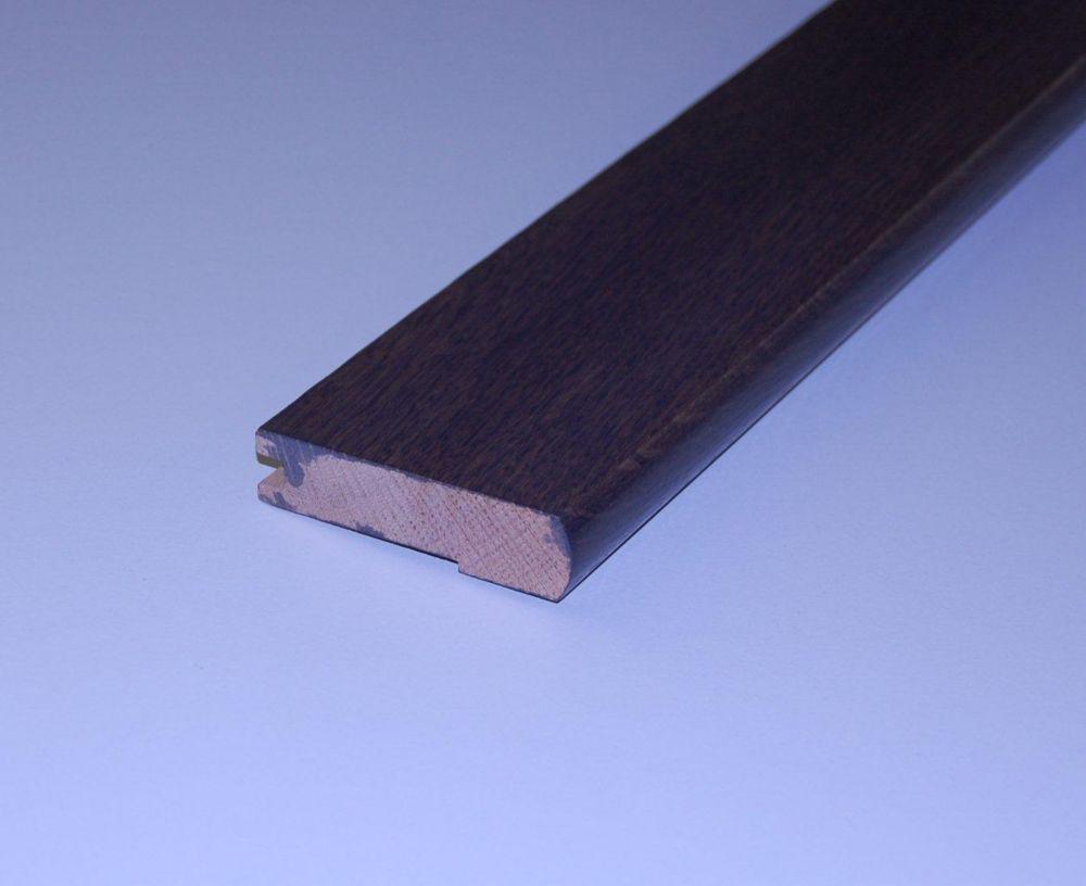 Oak Cocoa Handscraped Stair Nosing - 78 Inch Lengths