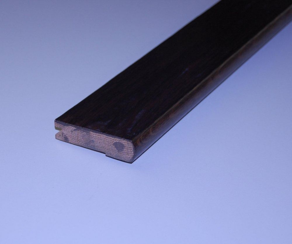 Oak Truffle Handscraped Stair Nosing - 78 Inch Lengths
