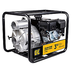 BE Pressure 3-inch 37 PSI Trash Pump with 3.6 L Fuel Tank