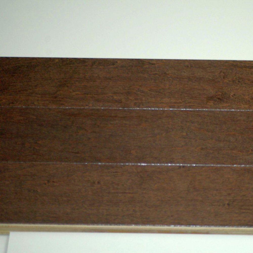 Hardwood Flooring Maple 3/4 x 3-1/2 - Espresso Colour (14  Sq.Ft./Case)