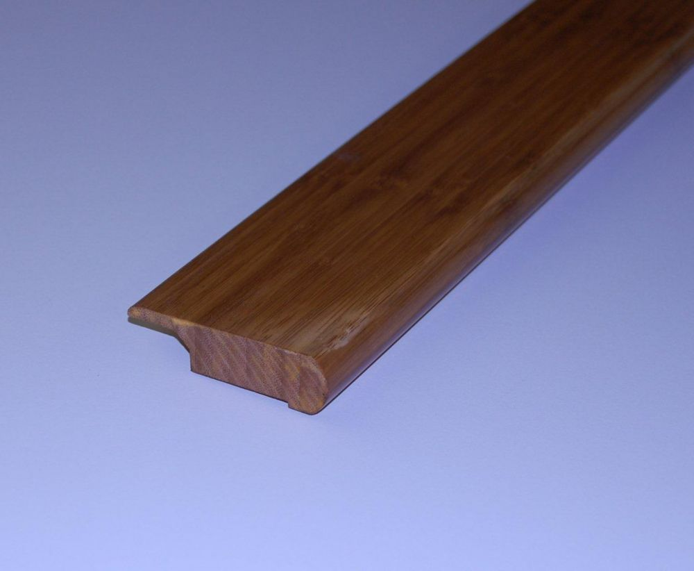Bamboo Coffee Overlap Stair Nosing - 78 Inch Lengths